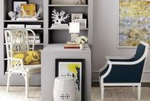 Home | Office Spaces / Home offices / by J.J. Springer