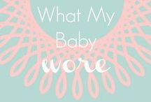 Baby Fashion / by Very Busy Mamá (María José Ovalle)