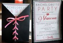 Project - EB's Bridal Shower / Inspiration for the bachelorette party I hosted for my best friend. / by Carly Robinson
