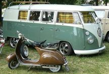 VW and Vespa awesomeness / by Amy Stallings