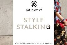 """Refinery29 Style Stalking / We teamed up with Refinery29 to celebrate their first book, """"Style Stalking."""" Their editors shopped Amazon Fashion to bring the three biggest trends to life: metallic, tomboy, and ladylike. Pick up a copy of """"Style Stalking"""" for more amazing outfit inspiration. / by Amazon.com/Fashion"""