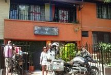 Motorcyclist to Medellin Colombia / Viajeros #palmtreehostelmedellin  Welcome Motorcyclist to Medellin Colombia Palm Tree Hostal Medellin; Our backpacker Hostel in Medellin, #Colombia  http://palmtreemedellin.com / by Palm Tree Hostel Medellín Colombia