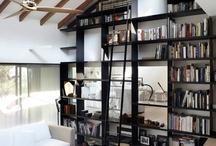 Bibliothèques / Recherche de la bibliothèque idéale pour le bureau et le salon. Ardu. / by Christine Marcandier