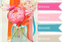 Color Palette / by Nicole (ChicCheapNursery.com)