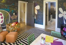Kids' Playrooms / by Nicole (ChicCheapNursery.com)