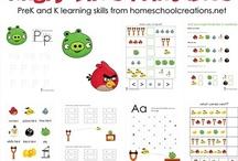 Homeschool ideas / by Kirsten Hill