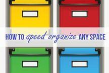 Organize it!! I think I can. ... / by Missy Misiak