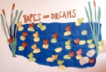 """Hopes & Dreams in Elementary Classrooms / Taking the time to help students articulate their goals for school—or their """"hopes and dreams"""" as they're often called—sets a tone of collaboration and mutual respect. It also fosters reflection and self-knowledge by prompting children to ask themselves questions such as """"What's important to me at school? What do I care about?"""" In addition, sharing individual goals for the school year creates a meaningful context for creating classroom rules. / by Responsive Classroom"""