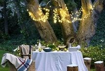 Wedding: decor / All things beautiful to make your eyes and dreams sparkle.  / by Jenna Robinson