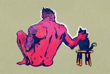 you gotta be kitten me... / by Chris Hornauer