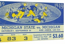 FOOTBALL TICKETS / College football tickets. The best college football tickets in America turned into canvas football art, football posters, ROW 1™ Tees, Football Ticket Coasters,™ and Ticket Mugs.™ 47 STRAIGHT.™ America's best college football tickets.™ / by 47 STRAIGHT™