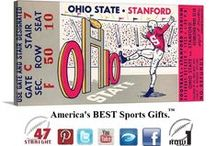 Football Art / Father's Day Gifts for football fans! College Football Art! Vintage football art made from authentic vintage football ticket art. Canvas football art and football art prints available. College football art. Pro football art. Historic football art. The best football art is at www.shop.47straightposters.com. When you think football art, think 47 STRAIGHT.™ The BEST football art in America.™ / by 47 STRAIGHT™