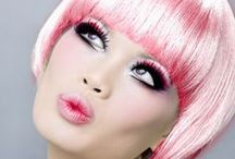 PINK HAIR / by Wilma