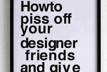Design Related / Design that I like. / by Lorraine McKee
