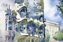 Watercolors / by Carmen Slone-Lorenzana