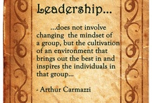 Leadership Quotes / Cool, thought provoking quotes / by Al Gonzalez