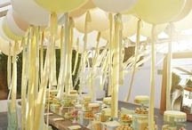 the bridal shower / Break out the balloons & streamers, oh and don't forget the champagne!!  / by Kirsten Kuehn