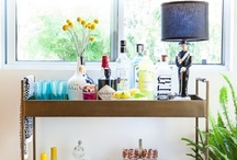 let's set a table...or a bar cart / by Sharyn Greenstein