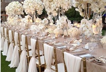 wedding tablescapes  / by Kirsten Kuehn