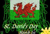Holidays - St. David's Day(Wales' National Day) - Mar. 1 / by Elaine *