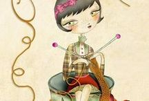 The Corner of Knit and Tea / Things that inspire me on my blog http://Thecornerofknitandtea.com / by Fluffykira