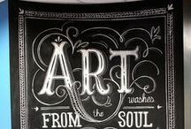 chalkboards divine / by Susan Chrisenberry