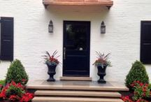 Welcome Home Architecture / Front entrance style / by Lawncare Plus Design~Landscaping Hardscaping Patios Gardening