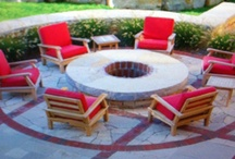 Fire Elements / by Lawncare Plus Design~Landscaping Hardscaping Patios Gardening