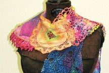 Fiber Art- felting/dyeing/Painting / by Heather Merrifield