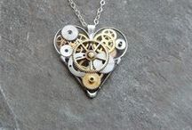 Steampunk Jewelry/Accessories / by Heather Merrifield