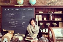 bakery & cafe inspiration / Some day I'll have a little bake shop. / by Sarah Elizabeth
