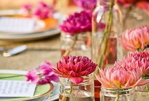 Garden Party / Shabby & sweet natural party decorations and ideas. / by Sarah Elizabeth