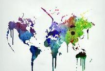 Color. Create. Art. / by Sarah Baker