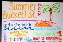 <<summer bucket list>> / by Cassidy Budde