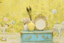 Wallpaper / by Amy Chalmers - Maison Decor