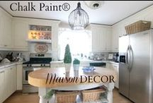 Chalk Paint® decorative paint by Annie Sloan projects by Maison Decor and Others / by Amy Chalmers - Maison Decor