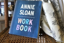 Annie Sloan Workbook  / Things that inspire~sketches, swatches, paint chips, photos, and the like all combine in this journal of decorating ideas! / by Amy Chalmers - Maison Decor