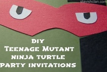 Teenage Mutant Ninja Turtle Party / by Simply Stavish