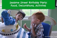 Sesame Street party  / by Simply Stavish