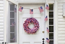 : : Patriotic Pins...Red, White, and Blue : :  / by Texas Farmhouse