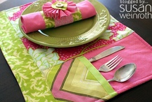 Table Runners & Placemats / by Monique Thompson-Nainoa