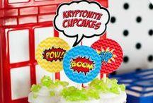 Super Hero Party Theme / Bang Smash Buzz POP!  / by Kidfolio