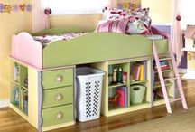 Kids Storage Solutions  / Ideas and tips for organising kids closets and bed rooms.   / by Kidfolio
