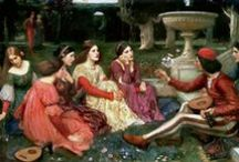 Brotherhood  / The Pre-Raphaelites & Loosely Associated Artists & Figures. / by The Inner Spiral