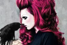 { Big hair & big lashes } / Always. My motto.  / by Fabiola Urdiain