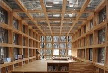 Madera / Materiales. Uso de la madera como material de fachada en edificación. / by Enrique Rayon