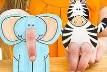 DIY Puppets / Create your own puppets and with it hours of fun with the kids! / by Kidfolio