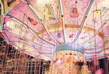 Ferris Wheel~Carousel~Carnival / by Hiedi Rollings-Sauley