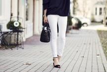 white jeans - live love la / by Neekoh