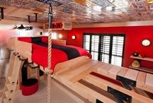 Boy's room | Fiú szoba | Jungenzimmer / Boy's room | Fiú szoba | Jungenzimmer.  Színek, bútorok, dekoráció a fiú szobában. / by Nanon // NanonArt